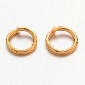5mm Jump rings (150) Gold